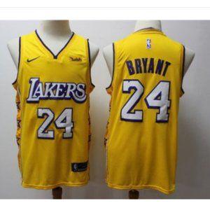 Women Lakers #24 Kobe Bryant Jersey stitched